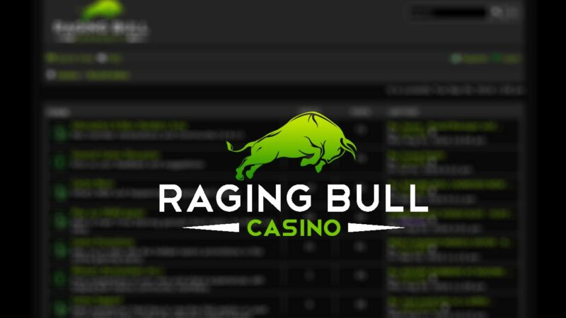 How to login with raging bull casino Australia?
