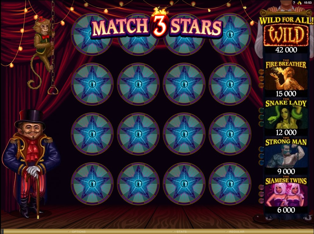 A trick to play twisted circus slots: